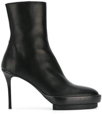 Ann Demeulemeester Olio ankle boots