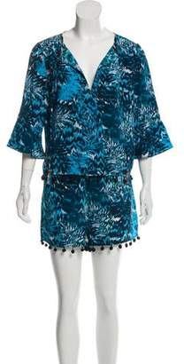 Matthew Williamson Silk Two-Piece Set