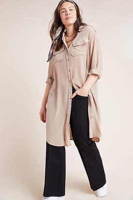 BAACAL Gabi Silk Plus Shirtdress