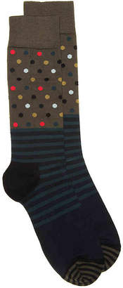 Happy Socks Stripes & Dots Crew Socks - Men's