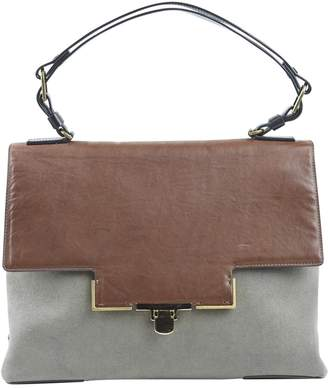 Lanvin Khaki Cloth Handbag