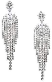 Adriana Orsini Leia Swarovski Crystal Chandelier Drop Earrings