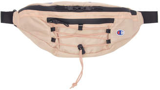 Champion Reverse Weave Pink Lace-Up Logo Belt Bag