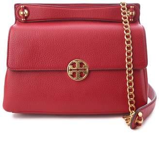 Tory Burch Chelsea Flap Pebbled-leather Shoulder Bag