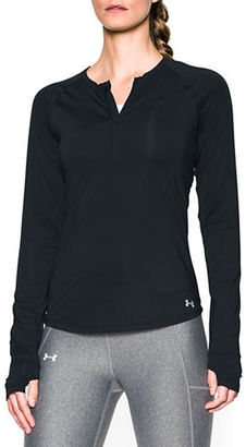 Under Armour Solid Roundneck Top $54.99 thestylecure.com