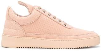 Filling Pieces perforated platform sole sneakers