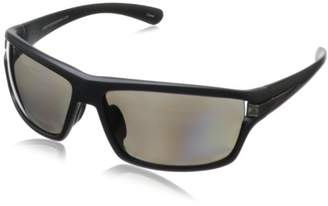 Greg Norman G4609 Polarized Sport Square Melanin Sunglasses