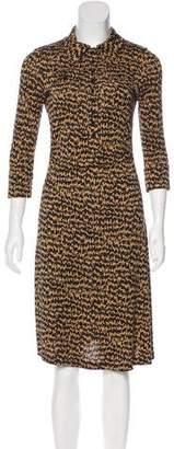 Diane von Furstenberg Long Sleeve Polly Dee Dress