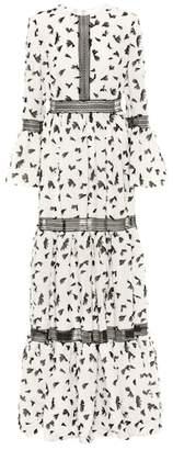 Huishan Zhang Pouget embellished dress