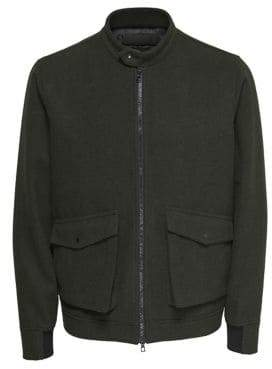ONLY & SONS Wool-Blend Bomber Jacket