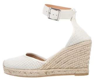 Marc by Marc Jacobs Perforated Leather Wedges