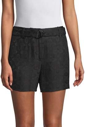 Sandro Women's H16 Jam Textured Shorts