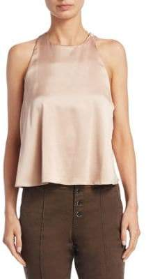 A.L.C. Open-Back Sleeveless Top