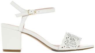 Basque Romy White Sandal