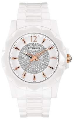 Wittnauer Women's Elena Crystal Bracelet Watch, 38mm