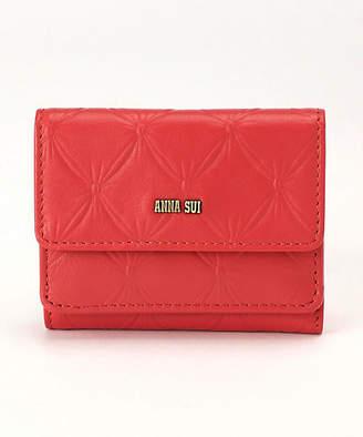 Anna Sui (アナ スイ) - [ANNA SUI] 「フラワーリップ」3つ折りミニ財布(314012)