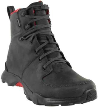 The North Face Thermoball Versa Men's WP Leather Boots Gray Size 10.5
