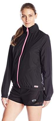 Juicy Couture Black Label Women's Sport Compression Fitted Jacket $158 thestylecure.com