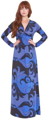 Olian 'Katherine' Print Maternity Maxi Dress