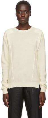 Ambush Off-White Waffle Knit Crewneck Sweater