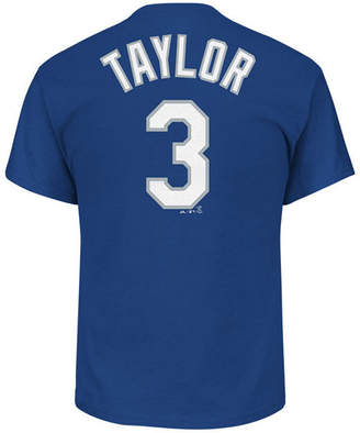 Majestic Men Chris Taylor Los Angeles Dodgers Official Player T-Shirt