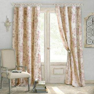 """Elrene Home Fashions Annalise Floral Curtain Panel, 52"""" x 84"""""""