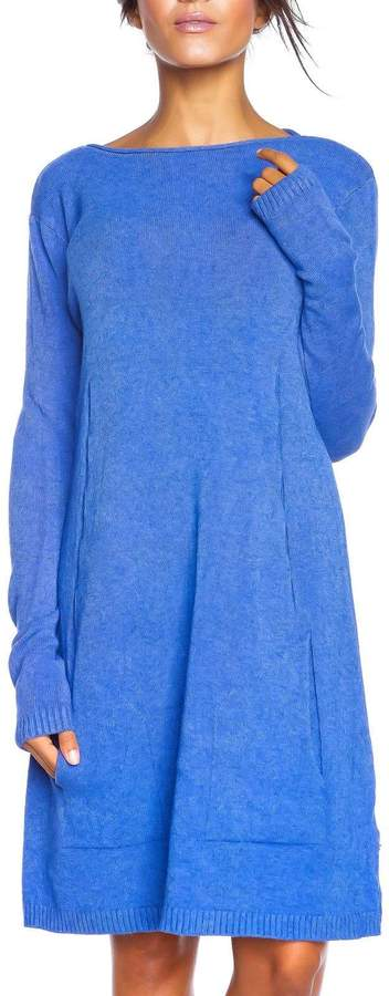 So Cachemire Platine - Pulloverkleid - blau