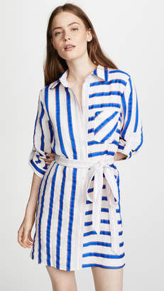 Milly Striped Shirtdress