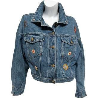 Trussardi Jeans Blue Denim - Jeans Jackets