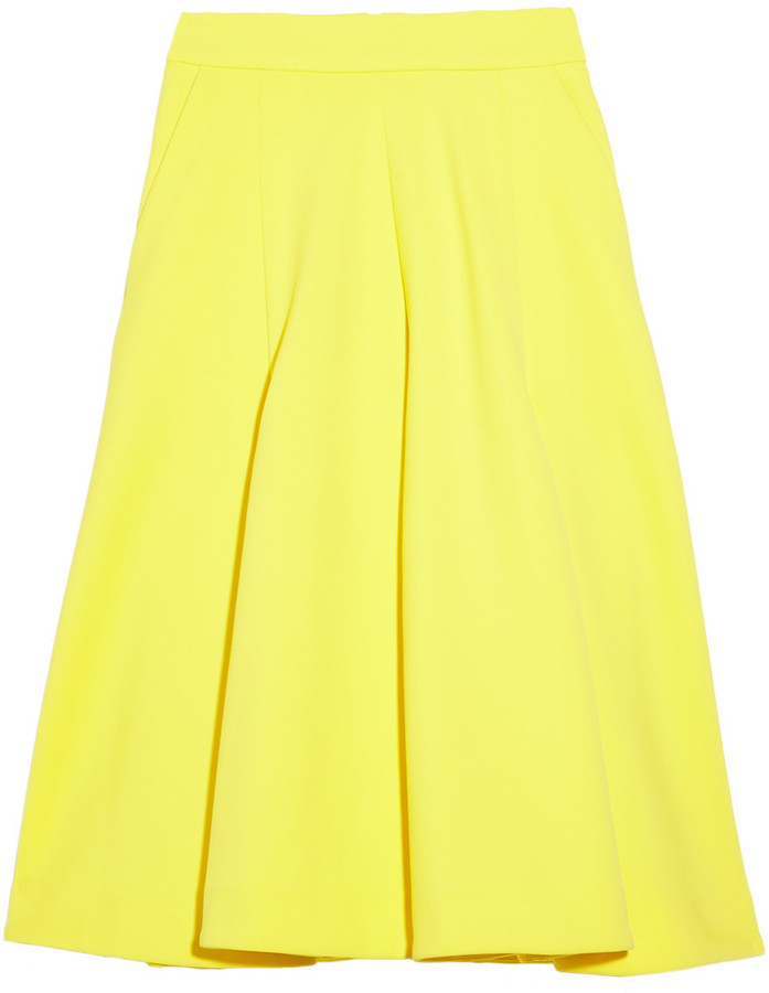 J.W.Anderson Pleated A-line skirt