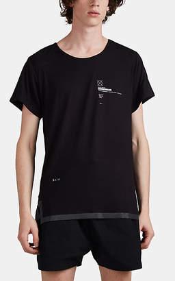 Siki Im Men's Reflective-Trimmed Tech-Jersey T-Shirt - Black