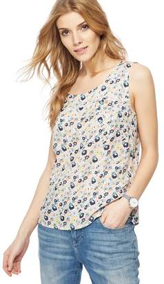 Mantaray Multi-Coloured Floral Print Shell Top