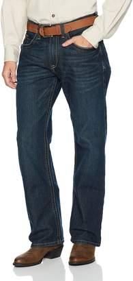 Ariat Men's M4 REBAR Stretch Low Rise Boot Cut Jean