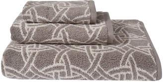Natori Dynasty Medallion Jacquard Hand Towel