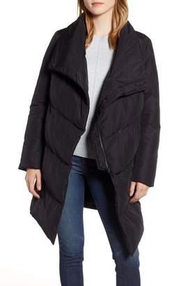 Halogen Zip Front Puffer Jacket
