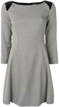Liu Jo houndstooth flared dress