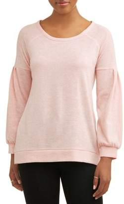 French Laundry Women's Super Soft Balloon Long Sleeve T-Shirt