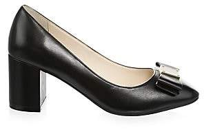 Cole Haan Women's Tali Bow Leather Pumps