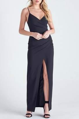 Pretty Little Things Wrap Maxi Dress