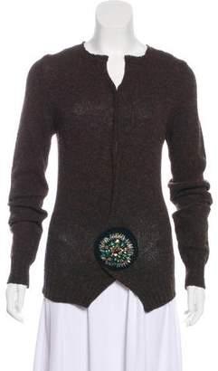 Prada Wool Embellished Sweater