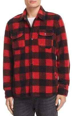 Levi's Plaid Fleece Shirt Jacket