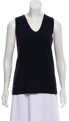 The Row Sleeveless V-Neck Sweater