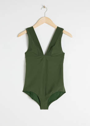 And other stories V-Cut Swimsuit