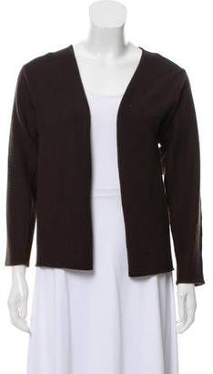 Hermes Cashmere Open Front Cardigan