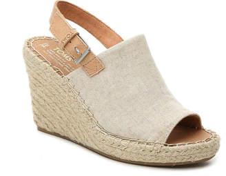 Toms Monica Espadrille Wedge Sandal - Women's