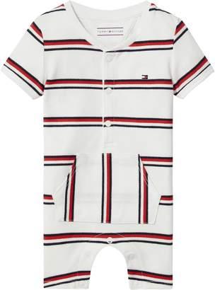 Tommy Hilfiger Baby Stripe Shortall