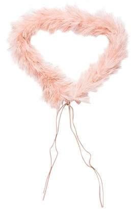 Prada Marabou Feather Belt