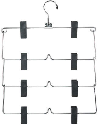 Honey-Can-Do 4-Tier Fold-Up Skirt & Pant Hanger