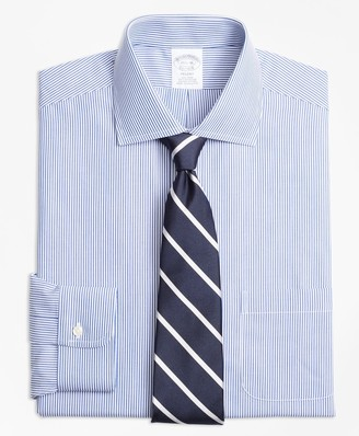 Brooks Brothers Regent Fitted Dress Shirt, Non-Iron Candy Stripe