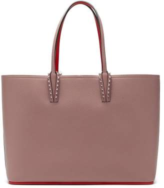 Christian Louboutin Cabata Spike Embellished Tote Bag - Womens - Light Pink